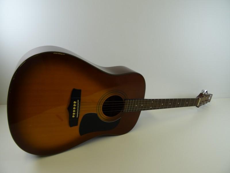 vintage Aria - AW 200 BS - akoestische  gitaar