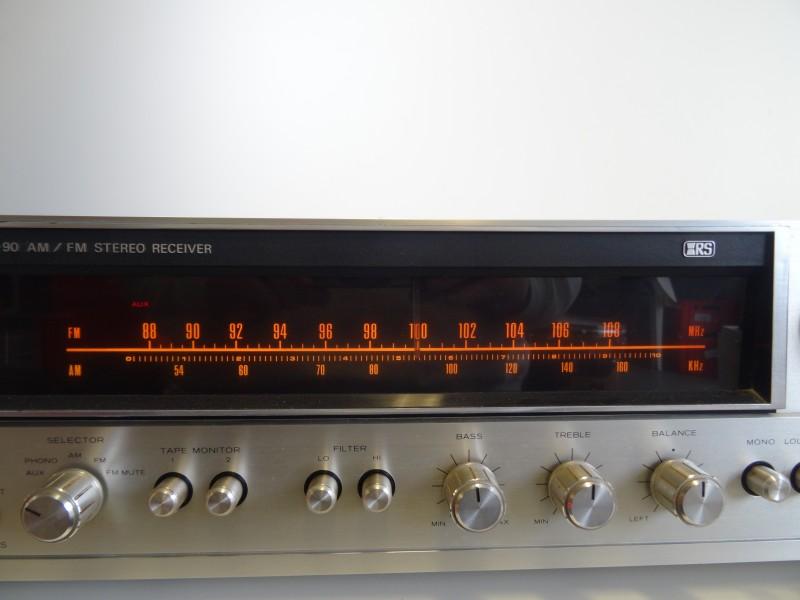 REALISTIC STA-90 AM/FM Stereo Reciever  met garantie