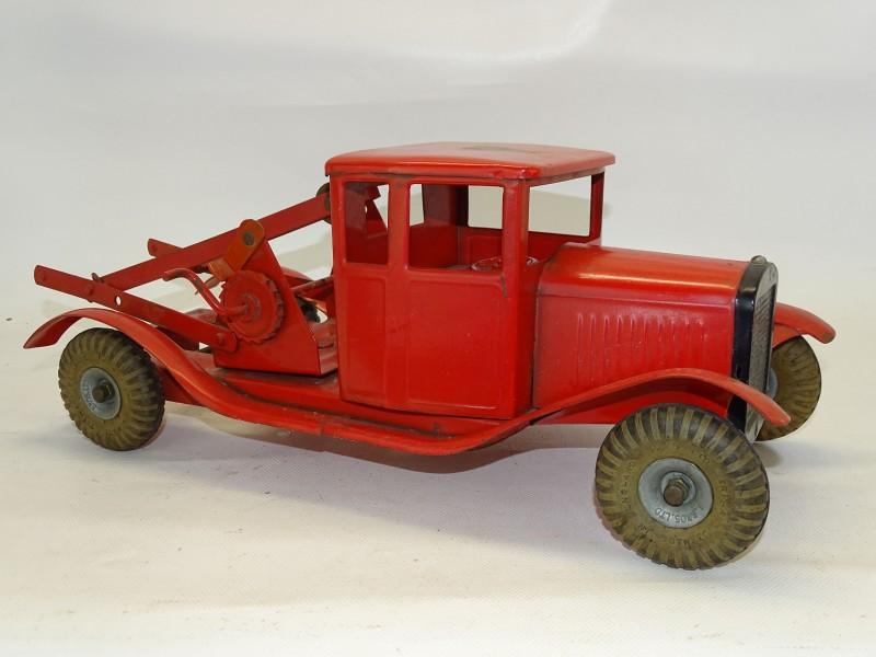 Oude Metalen Speelgoed Takelwagen, Engeland