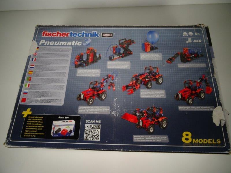 Fischertechnik Constructie Set Pneumatic 3