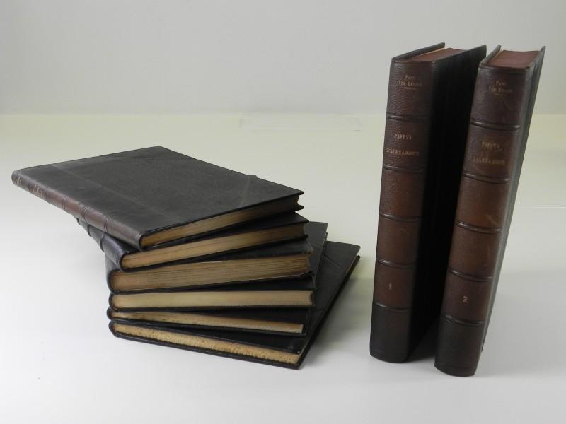 Paul Ver Eecke: 8 Franse vertalingen van antieke wiskunde geschatte leeftijd jaren '50