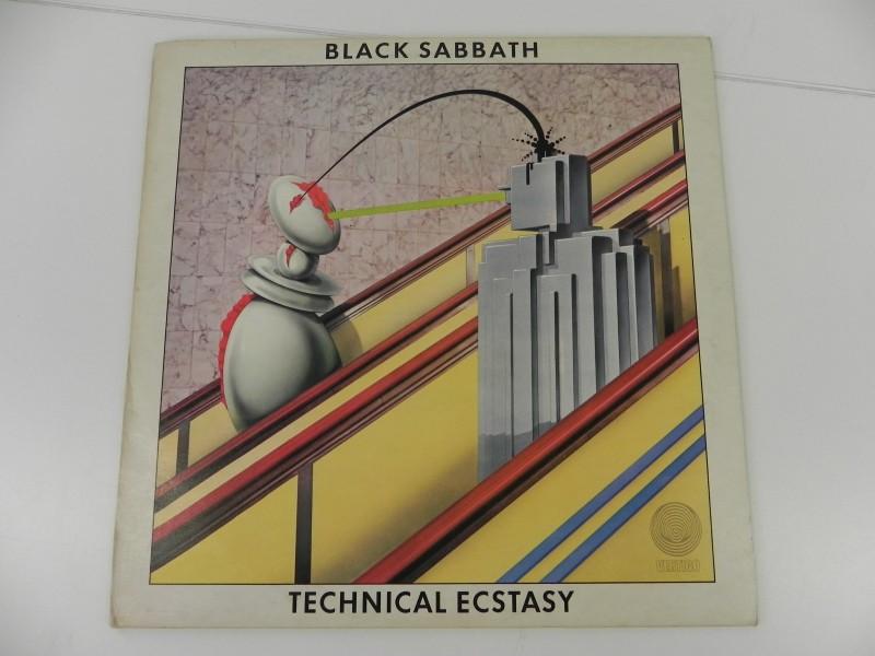LP - Black Sabbath - Technical Ecstacy