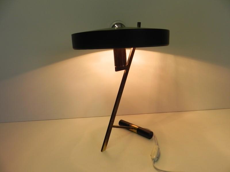 """Vintage Louis Kalff """"Z"""" lamp met garantie"""