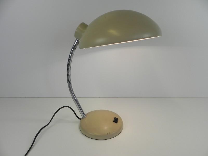 Vintage oude bureaulamp (met garantie)