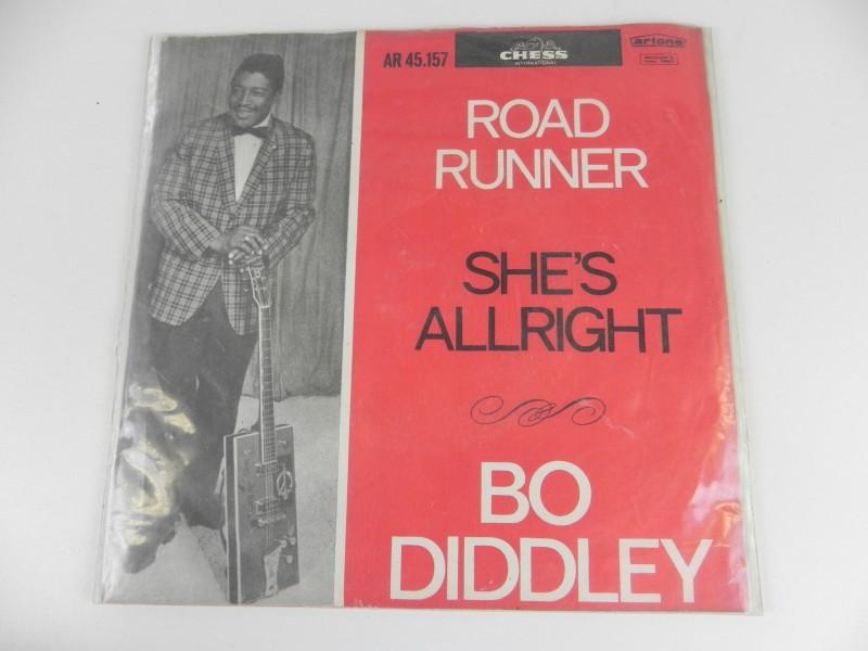 "7""Single - Bo Diddley - Road Runner"