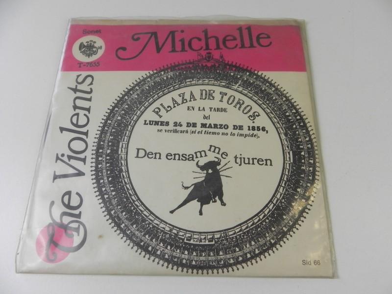 "7"" Single - The Violents - Michelle"