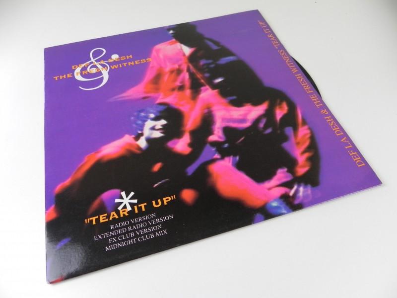 """12"""" - Def La Desh & The Fresh Witness – Tear It Up"""