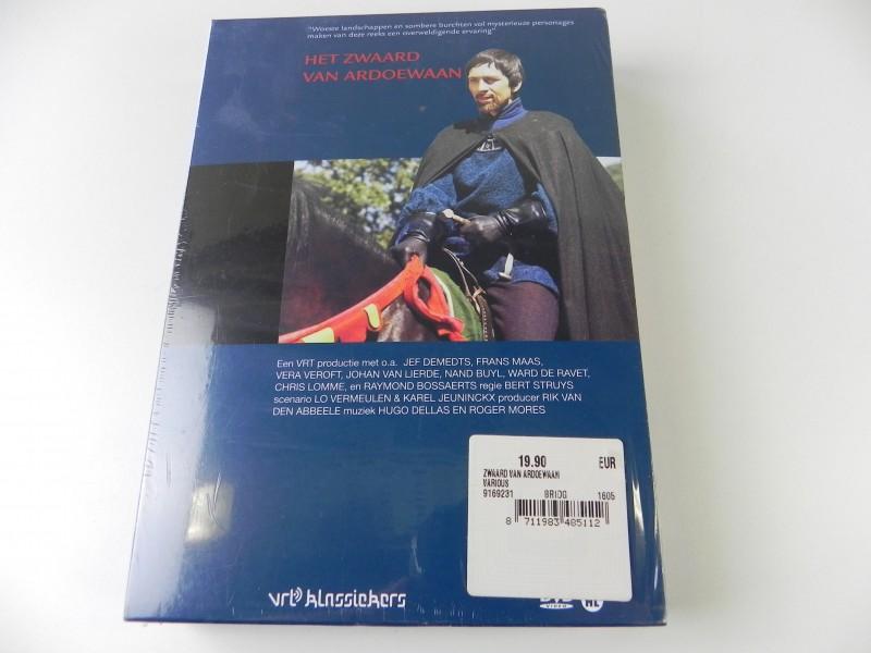 DVD box Het zwaard van Ardoewaan (nieuw)