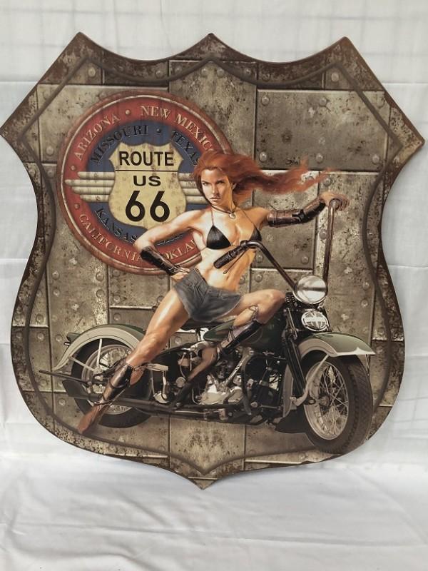 Route 66 reclame bord