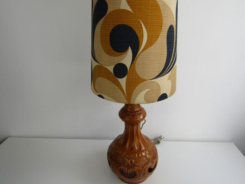 Werkende Retro Lamp met Hoge Kap