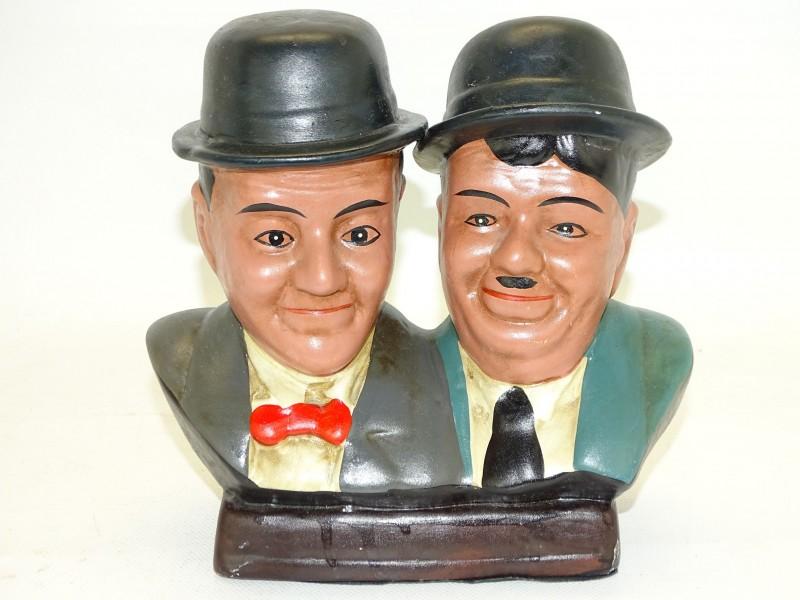 Beeld: Laurel & Hardy / De Dikke en De Dunne, Aardewerk