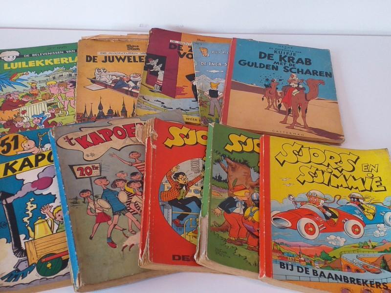 set van 53 verschillende stripverhalen