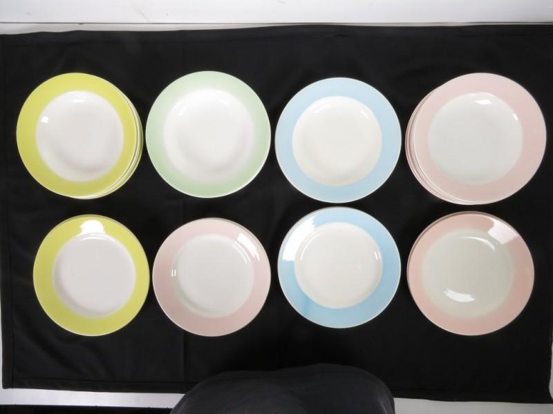 Pastelborden (26 stuks)