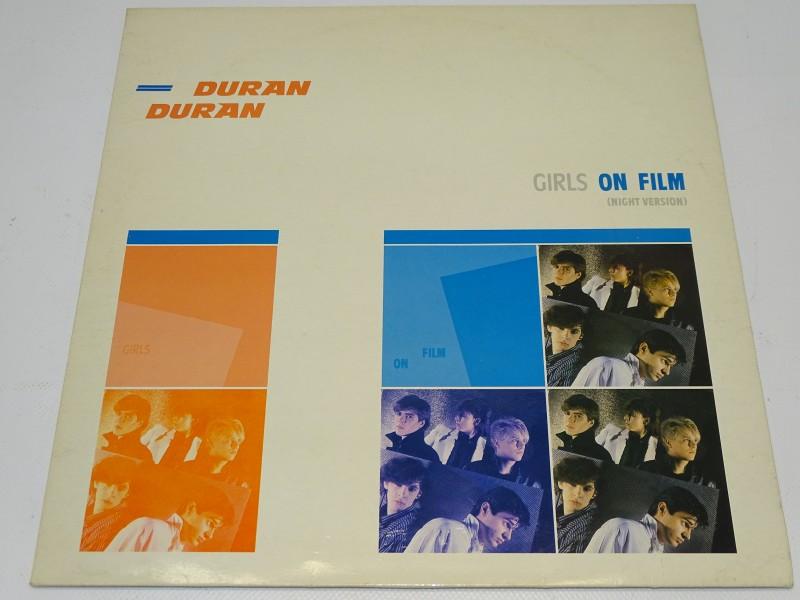 Mini LP, Duran Duran: Girls On Film, 1981