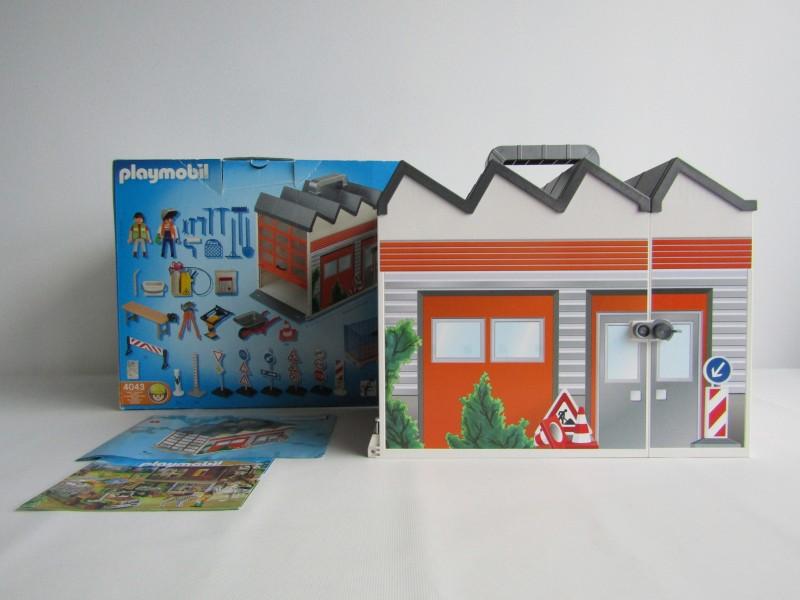 Playmobil: Mijn Meenneem Bouwset, 2007