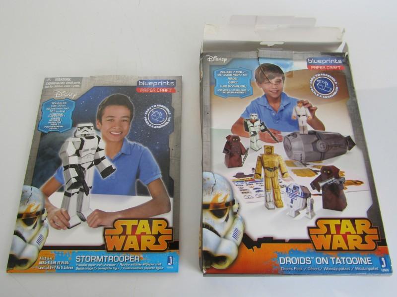 Star Wars: Droids On Tatooine, Desert Pack + Stormtrooper Bouwpakket