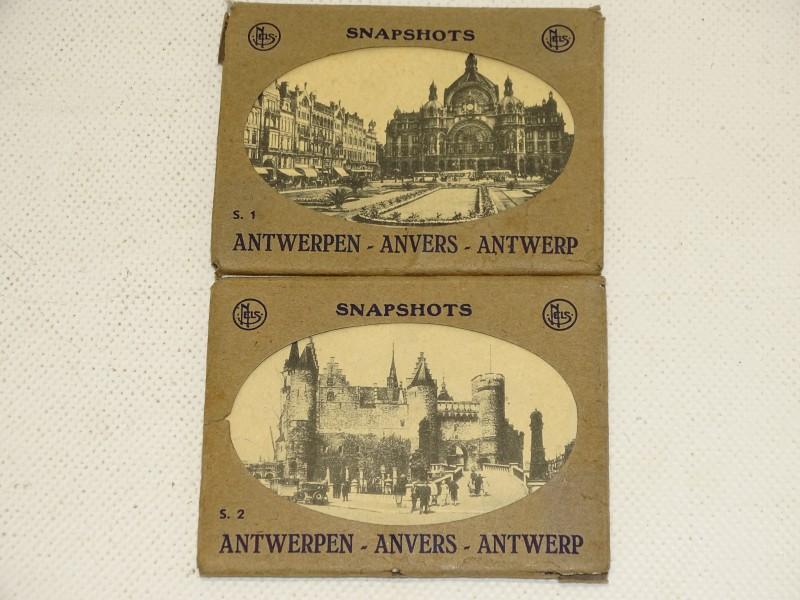 2 Mapjes / Snapshots: Antwerpen, S1, S2, Midden 20e Eeuw