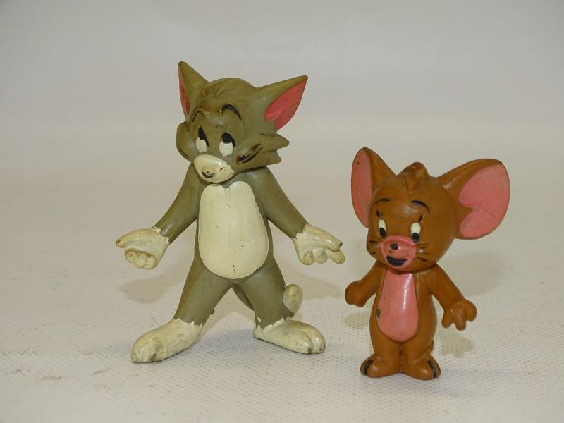 Retro Tom & Jerry Popjes: Schleich, Duitsland, Jaren 80