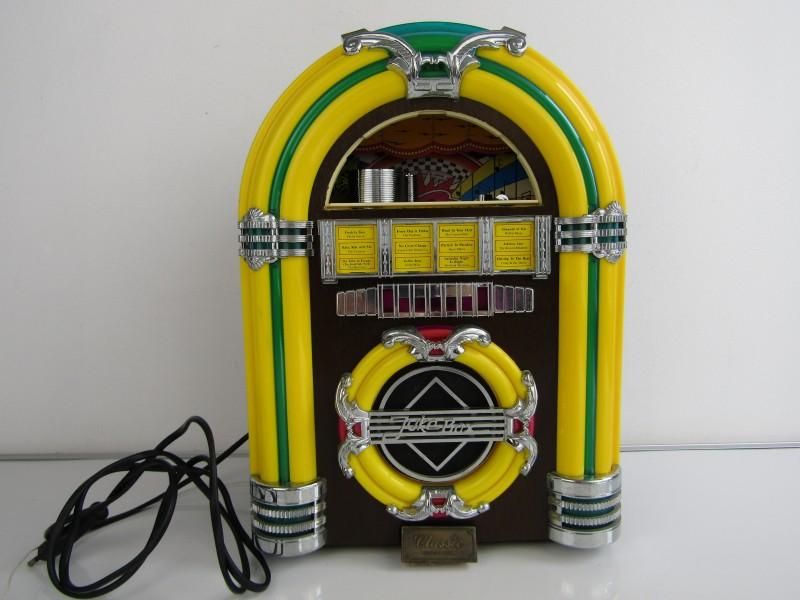 Werkende Retro Jukebox Radio: Classic Collectors Edition, Model CR 11