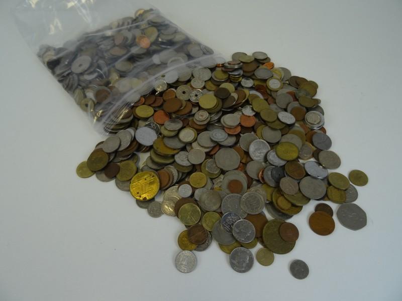 Oude muntstukken diverse 6 kg