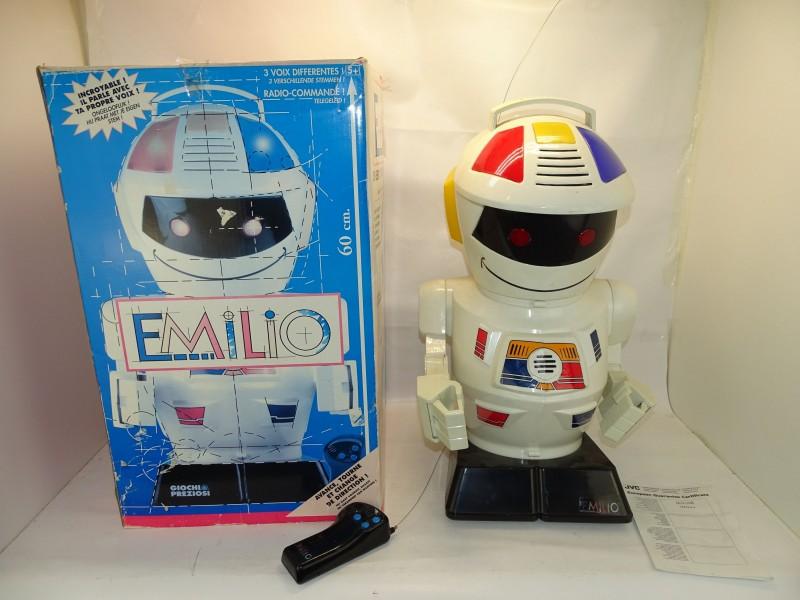 Extra Grote Robot / Collectors Item: Emilio, Vision - Giochi Preziosi, Jaren '80