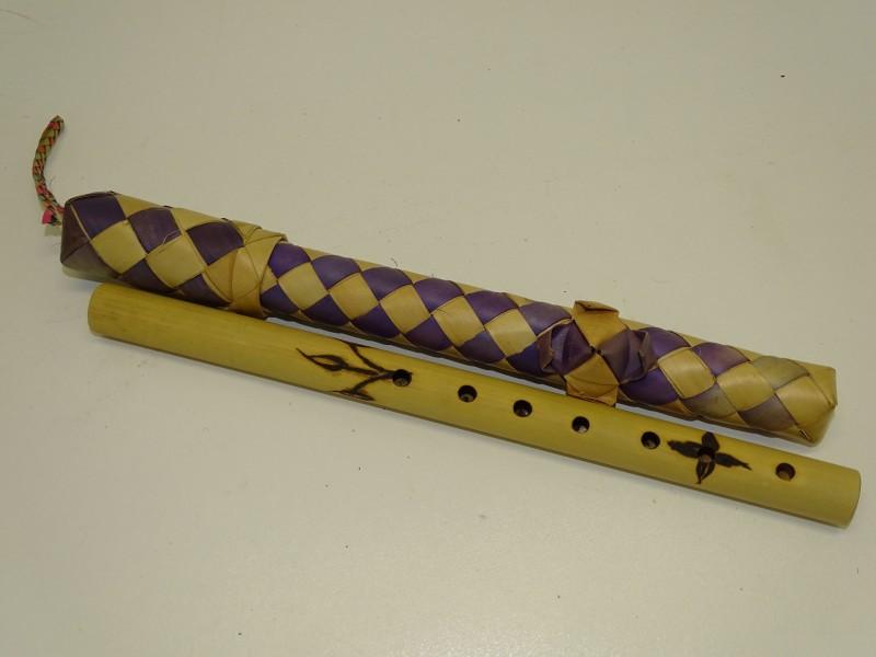 Traditionele Fluit, Bamboe met 7 Vingergaten