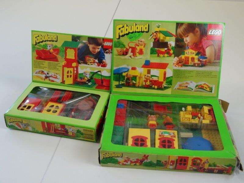 Lot Lego 3660 - 3667 Fabuland