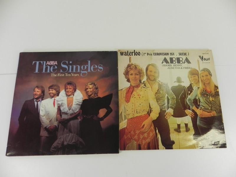 LP's - Abba - Waterloo /The Singles