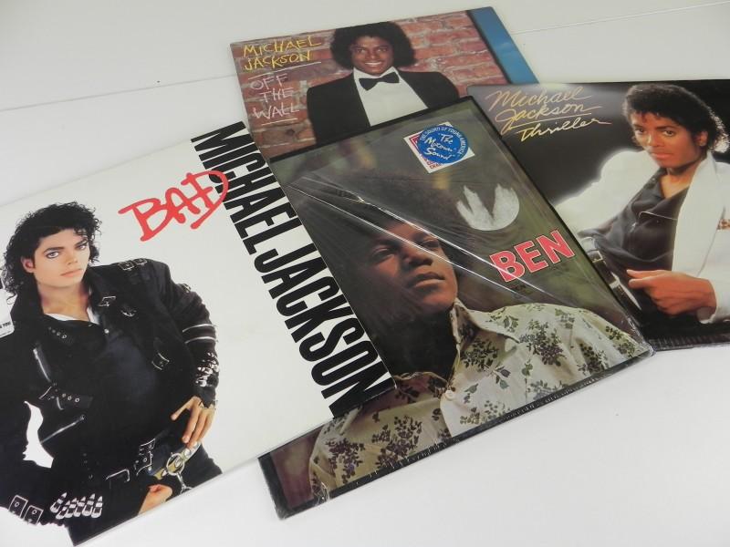 Lot Michael Jackson Lp's