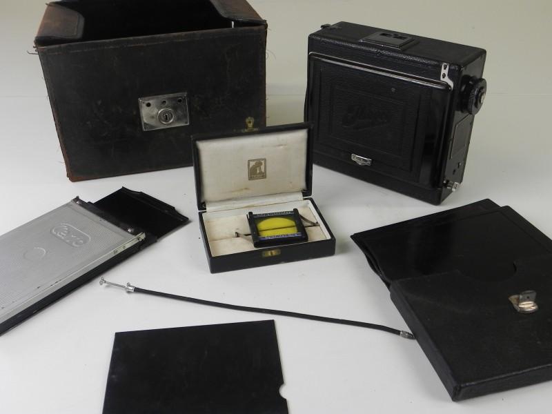 Antieke Exakta Ihagee Dresden Camera (niet getest)