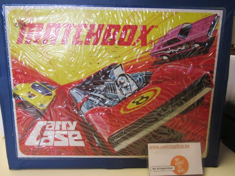Collector's item: vintage carry case 1971 - Matchbox