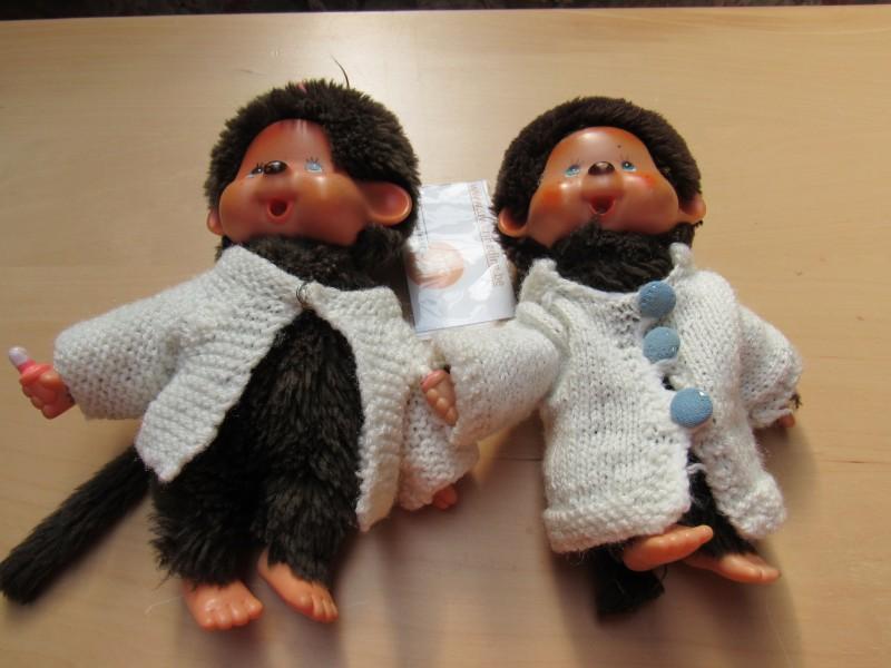 Twee monchhichis - 1974