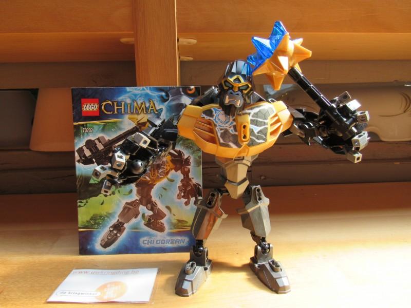 Buildable figure Chima Lego 70202