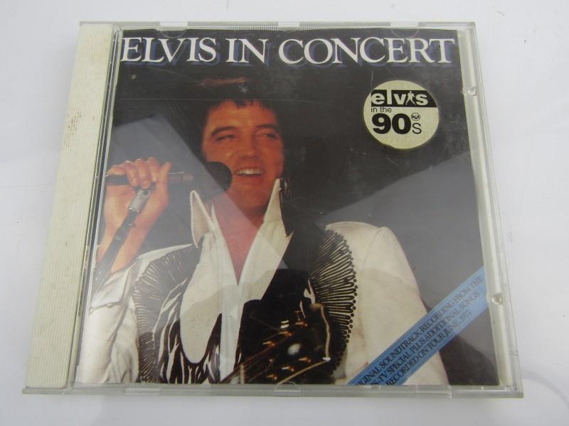 CD, Elvis In Concert, BMG Music 1993