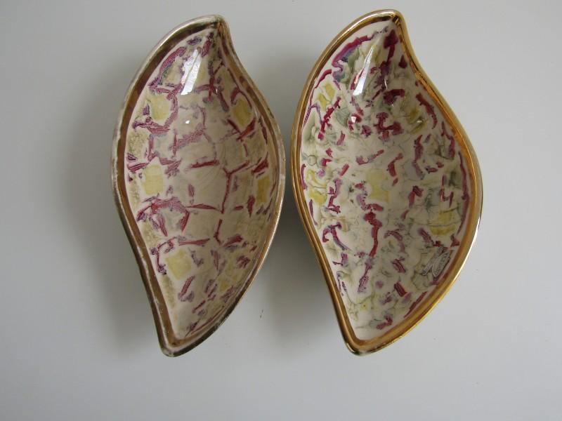 2 Laeken Schalen, Hand Made in Belgium