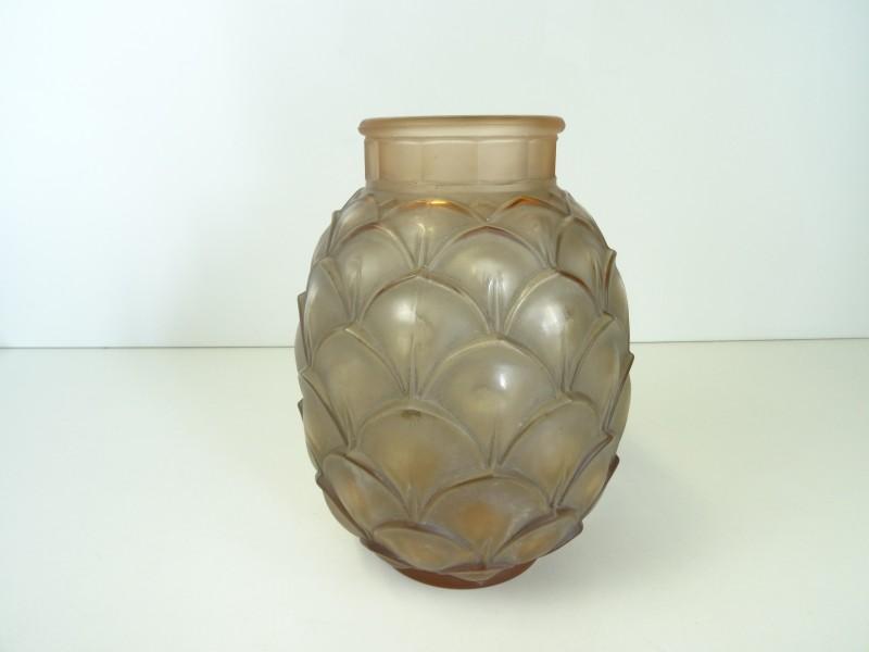 Art-Deco  LUXVAL Coqueret Vaas