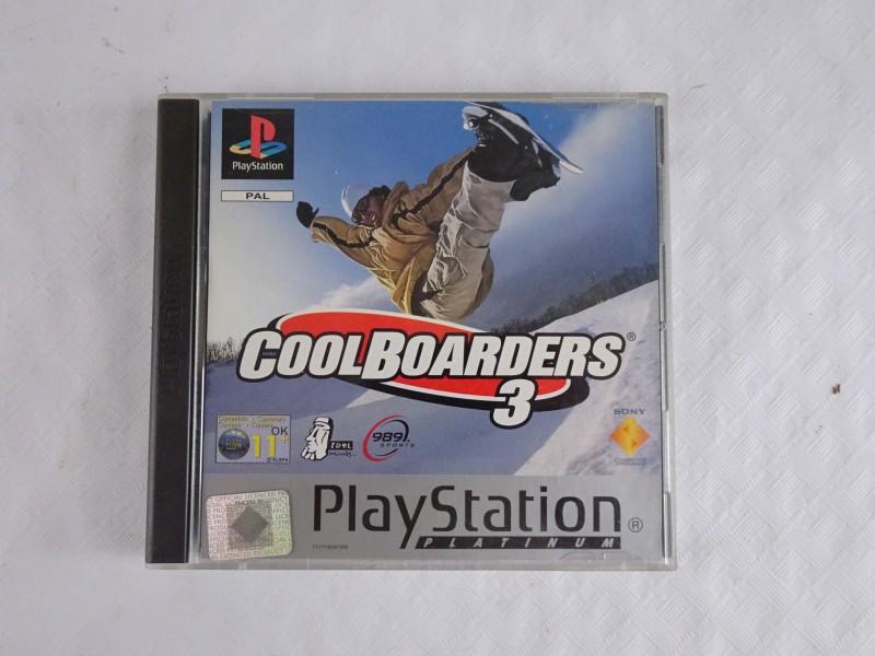 Playstation 1 spel: Cool Boarders 3.
