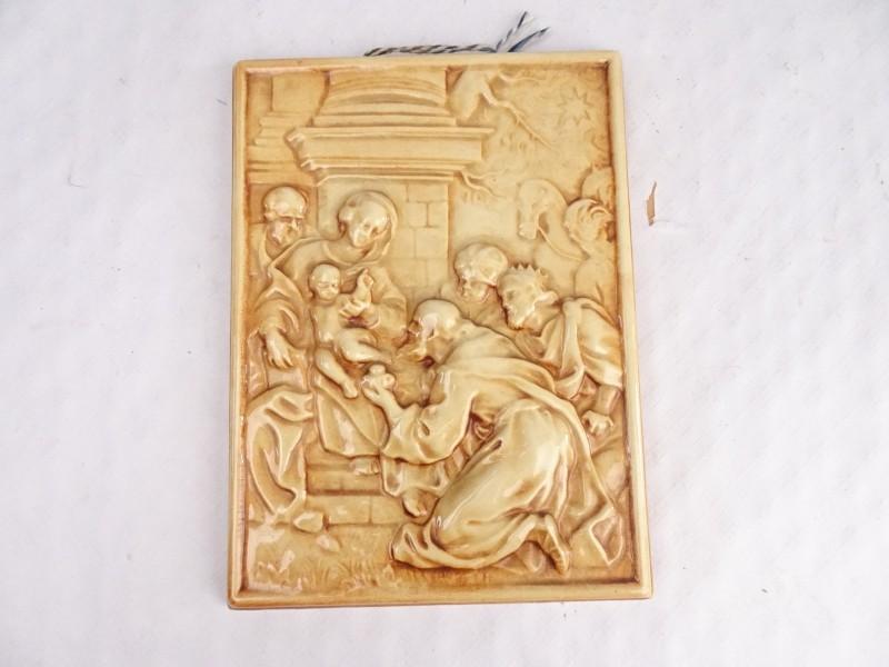 Ceramisch decoratief stuk De La Dyle Wijsmael.