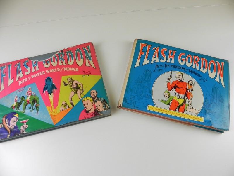 Alex Raymond: 2 Engelstalige albums van Flash Gordon 1967