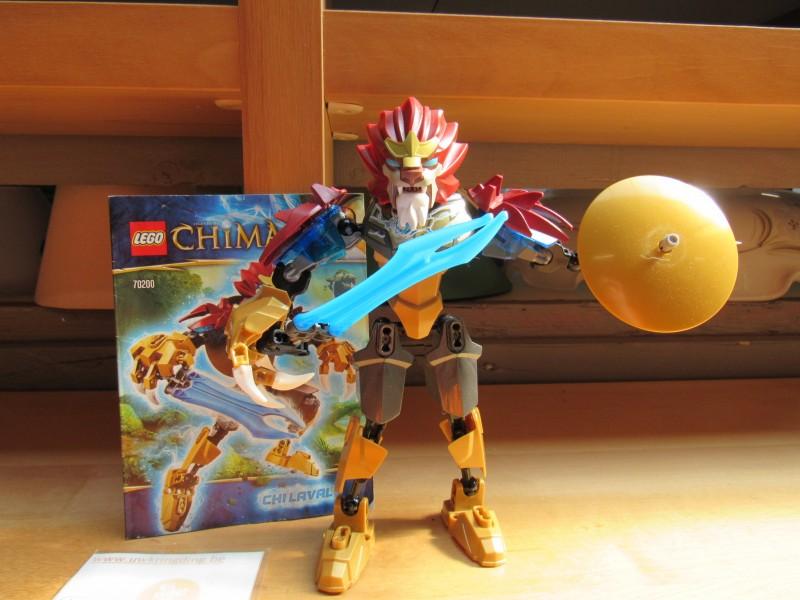 Buildable figure Chima Lego 70200