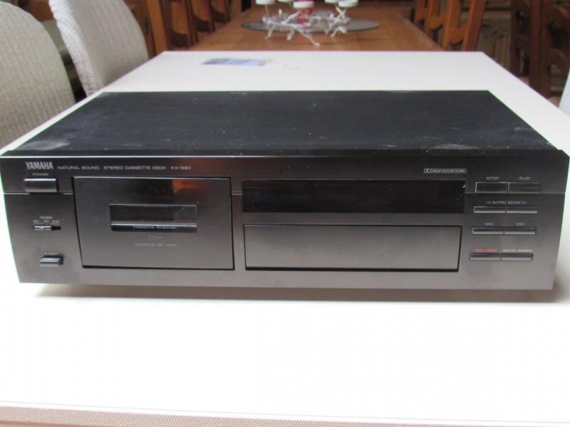 Yamaha - KX 580 - Cassettespeler