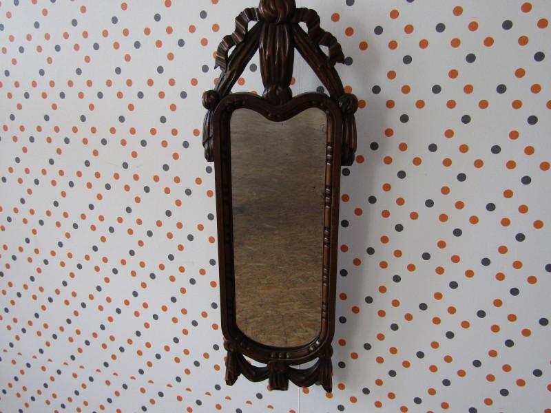 Langwerpige Antieke Spiegel