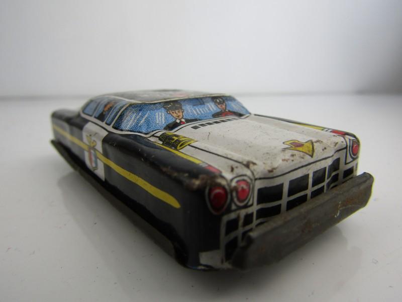 Blikken Speelgoed: Politiewagen, Made In Japan