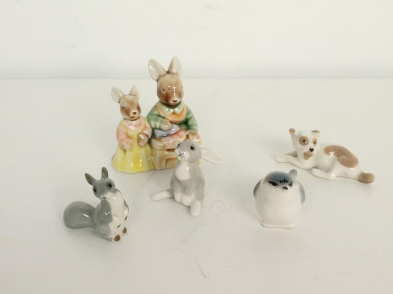 Porseleinen Miniatuurtjes: Lomonosov - USSR