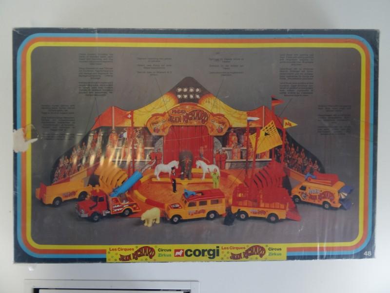 Vintage 1978-1979 Corgi Toys Circus JEAN RICHARD