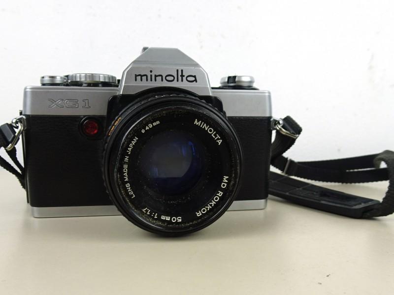 Fotocamera (Minolta XG1)