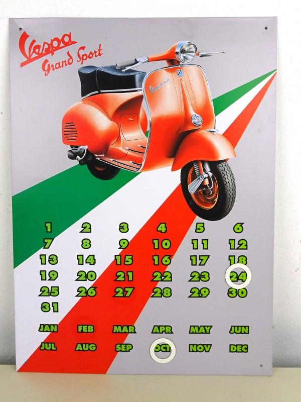 Retro-magneetkalender (VESPA)