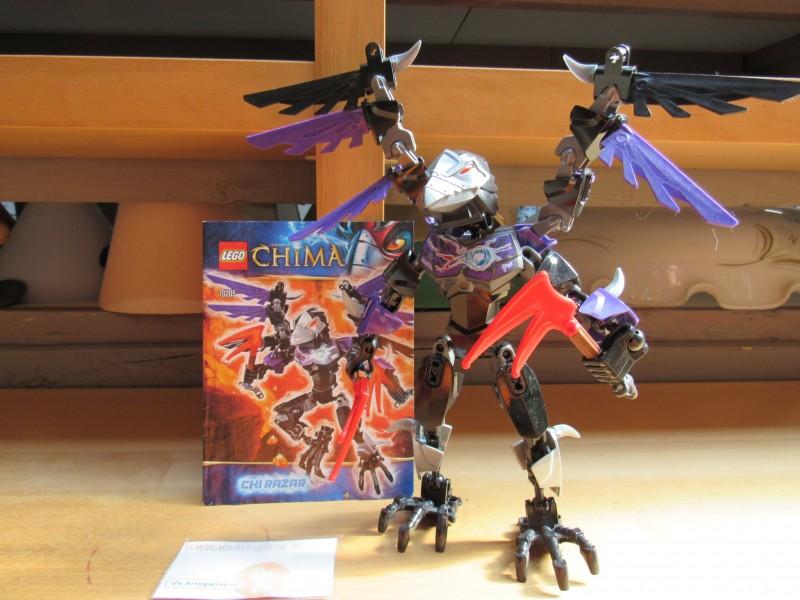Buildable figure Chima Lego 70205