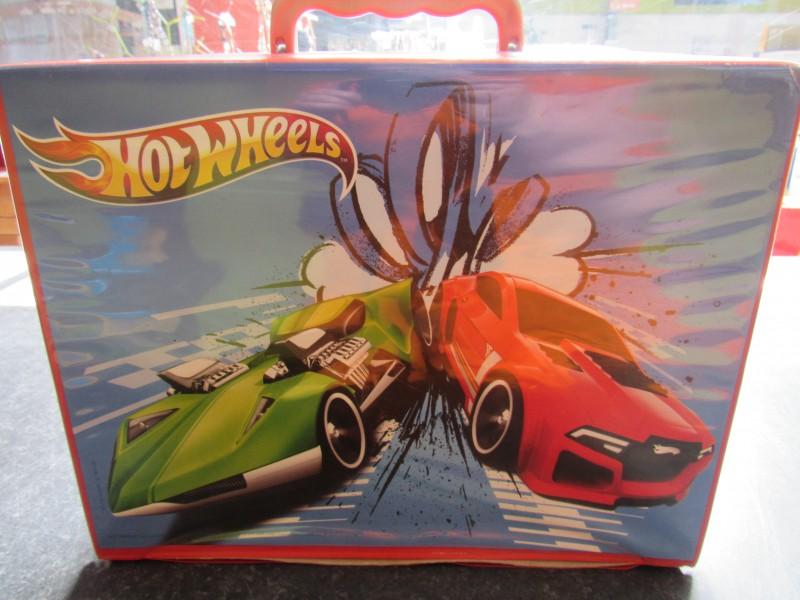 Opbergkoffer auto's Hot Wheels 2010