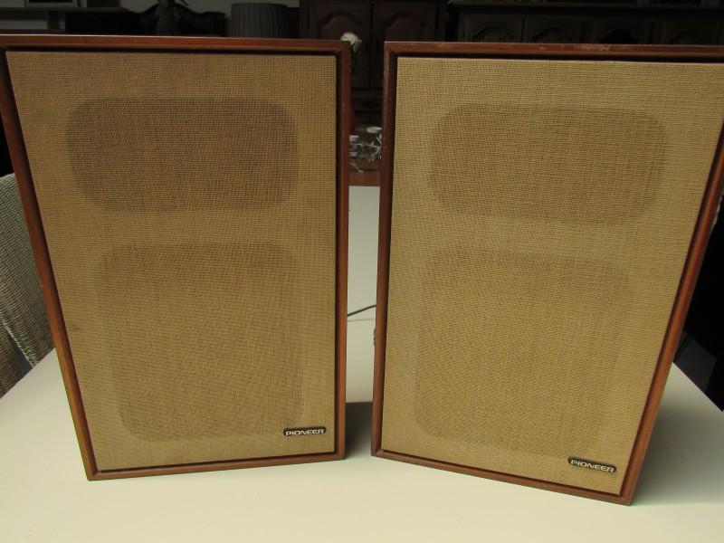 2 x Pioneer boxen CS - E - 201